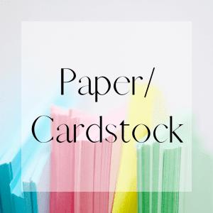 Paper/Cardstock